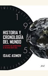 Papel HISTORIA Y CRONOLOGIA DEL MUNDO