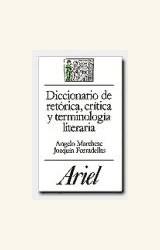 Papel DICCIONARIO DE RETORICA, CRITICA Y TERMINOLOGIA LITERARIA