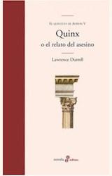 Papel QUINX O EL RELATO DEL ASESINO