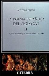 Papel POESIA ESPAÑOLA EN EL SIGLO XVI, II, LA