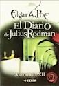 Libro Xii. El Diario De Julius Rodman  Antologia