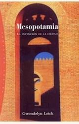 Papel MESOPOTAMIA, LA INVENCION DE LA CIUDAD
