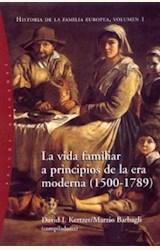 Papel HISTORIA DE LA FAMILIA EUROPEA, VOLUMEN I