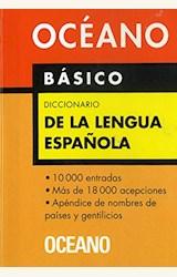 Papel DICCIONARIO OCEANO LENGUA ESPAÑOLA BASICO
