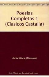 Papel POESIAS COMPLETAS I (SANTILLANA)
