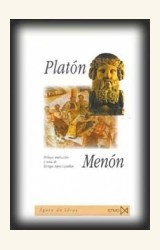 Papel MENON (TRAD. ENRIQUE LOPEZ CASTELLON) (EDIC. BILING³E) (R) (