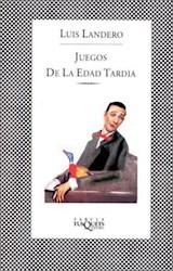 Papel JUEGOS DE LA EDAD TARDIA