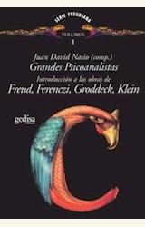 Papel GRANDES PSICOANALISTAS I