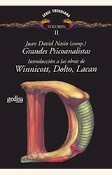 Papel GRANDES PSICOANALISTAS II