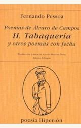 Papel POEMAS DE ALVARO DE CAMPOS II (PESSOA)