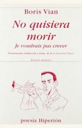 Papel NO QUISIERA MORIR