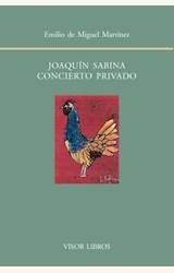 Papel JOAQUIN SABINA. CONCIERTO PRIVADO