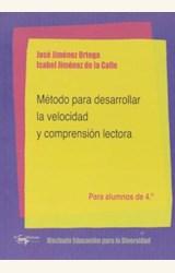 Papel METODO PARA DESARROLLAR LA VELOCIDAD DE COMPRENSION LECTORA