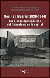 Papel MORIR EN MADRID