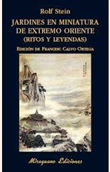 Papel JARDINES EN MINIATURA DE EXTREMO ORIENTE (RITOS Y LEYENDAS)