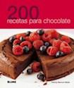 Libro 200 Recetas Para Chocolate