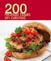 Libro 200 Recetas Bajas Calorias