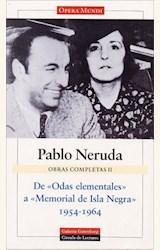 Papel OBRAS COMPLETAS NERUDA VOLUMEN II
