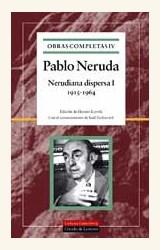 Papel OBRAS COMPLETAS NERUDA VOLUMEN IV