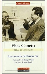 Papel OBRAS COMPLETAS III (CANETTI)
