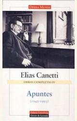 Papel OBRAS COMPLETAS IV (ELIAS CANETTI)