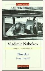Papel OBRAS COMPLETAS III. NOVELAS (1941-1957)