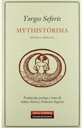 Papel MYTHISTORIMA POESIA COMPLETA