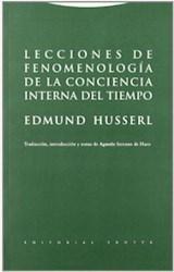 Papel LECCIONES DE FENOMENOLOGIA DE LA CONCIENCIA INTERNA DEL TIEMPO