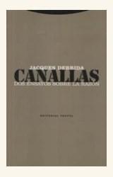 Papel CANALLAS. DOS ENSAYOS SOBRE LA RAZON