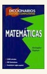 Papel DICCIONARIO OXFORD-COMPLUTENSE DE MATEMATICAS