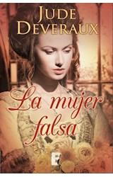 E-book La mujer falsa (Serie James River 1)