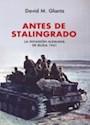 Libro Antes De Stalingrado