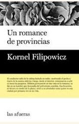 Papel UN ROMANCE DE PROVINCIAS