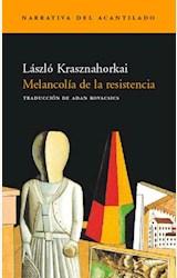 Papel MELANCOLIA DE LA RESISTENCIA