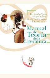 Papel MANUAL DE TEORIA DE LA LITERATURA