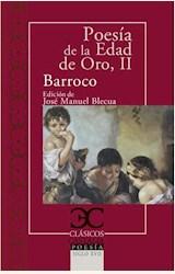 Papel POESÍA DE LA EDAD DE ORO, II. BARROCO