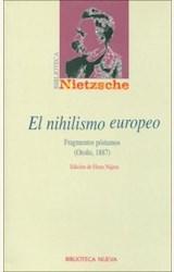 Papel EL NIHILISMO EUROPEO