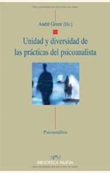Papel UNIDAD Y DIVERSIDAD DE LAS PRÁCTICAS DEL PSICOANALISTA