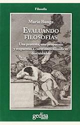 Papel EVALUANDO FILOSOFÍAS