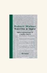 Papel ESCRITO A LAPIZ. MICROGRAMAS II (1926-1927)