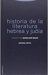 Papel HISTORIA DE LA LITERATURA HEBREA Y JUDIA