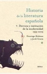 Papel HISTORIA DE LA LITERATURA ESPAÑOLA