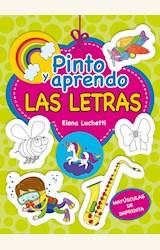Papel PINTO Y APRENDO LAS LETRAS