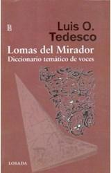 Papel LOMAS DEL MIRADOR. DICCIONARIO TEMATICO DE VOCES