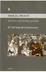 Papel EN BUSCA DEL TIEMPO PERDIDO III (DEL LADO DE GUERMANTES)
