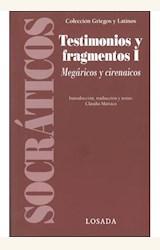 Papel TESTIMONIOS Y FRAGMENTOS I