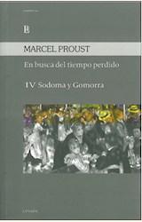 Papel EN BUSCA DEL TIEMPO PERDIDO IV -SODOMA Y GOMORRA
