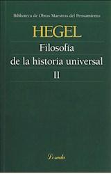 Papel FILOSOFIA DE LA HISTORIA UNIVERSAL II