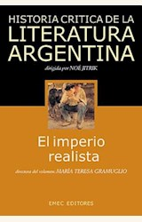 Papel HISTORIA CRITICA DE LA LITERATURA ARGENTINA (TOMO 6)