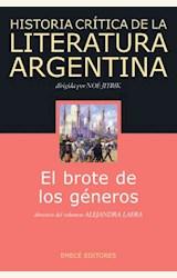 Papel HISTORIA CRITICA DE LA LITERATURA ARGENTINA VOL. 3
